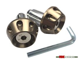 Vibrations-Dämpfer Satz CNC Titanium