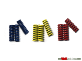 Clutch spring set (Blue/Yellow/Red)