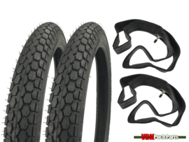 16 Inch 2.00 Continental KKS10 street profile tyre set (2.00x16)