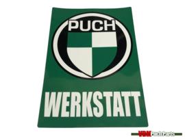 Workshop sticker Puch (Deutsch)
