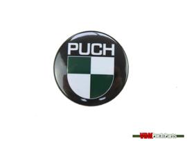 Button mit Puch Logo (37mm)