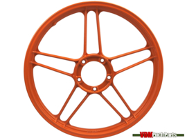 17 Inch Puch Maxi stervelg (Gepoedercoat oranje)