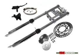 VDM Disc brake kit (Complete kit with EBR front fork long 65cm Chrome)