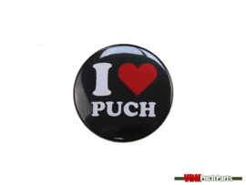 Button I Love Puch (37mm)