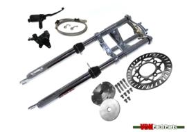 VDM Disc brake kit (Complete kit with EBR front fork short 56cm Chrome)