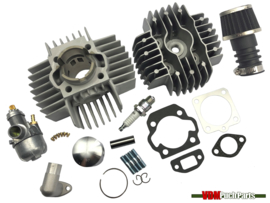 VDM Racing cylinder set 50cc 6 Port NM (38mm) 15mm Bing original Puch Maxi