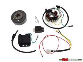 Kokusan ignition electronic complete (6 Volt)