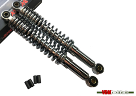 Shock absorber set MKX chrome (240mm) Puch Magnum X