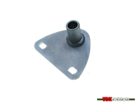 Exhaust mounting plate 3-angles Puch MV/VS/MV50 (2/3 gear)