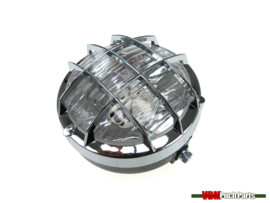 Headlight unit (Round black with grill)