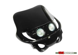Headlight spoiler cap streetfight black