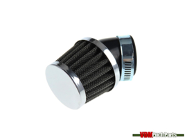 Powerfilter 45 graden schuin 32mm chroom