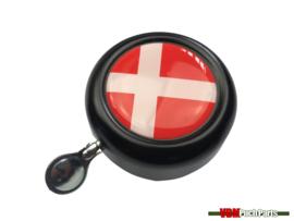 Bell Denmark black dome sticker