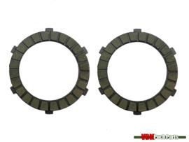Clutch plate set (Puch Z50 engine)