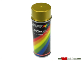 Motip spray paint metallic 400ml (Gold)