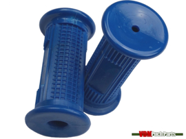 Footrest rubber set blue v1 Puch Maxi