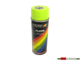 Motip spray paint fluor 400ml (Yellow)