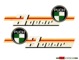 Tank transfer sticker set 3 Gear Puch VS