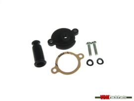 Dellorto PHBG throttle drum cover kit