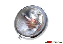 Headlight round 120mm Puch MC50/VZ50