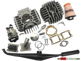 Gilardoni/Italkit cylinder set 74cc (47mm) 21mm Dellorto Homoet P8 Puch Maxi