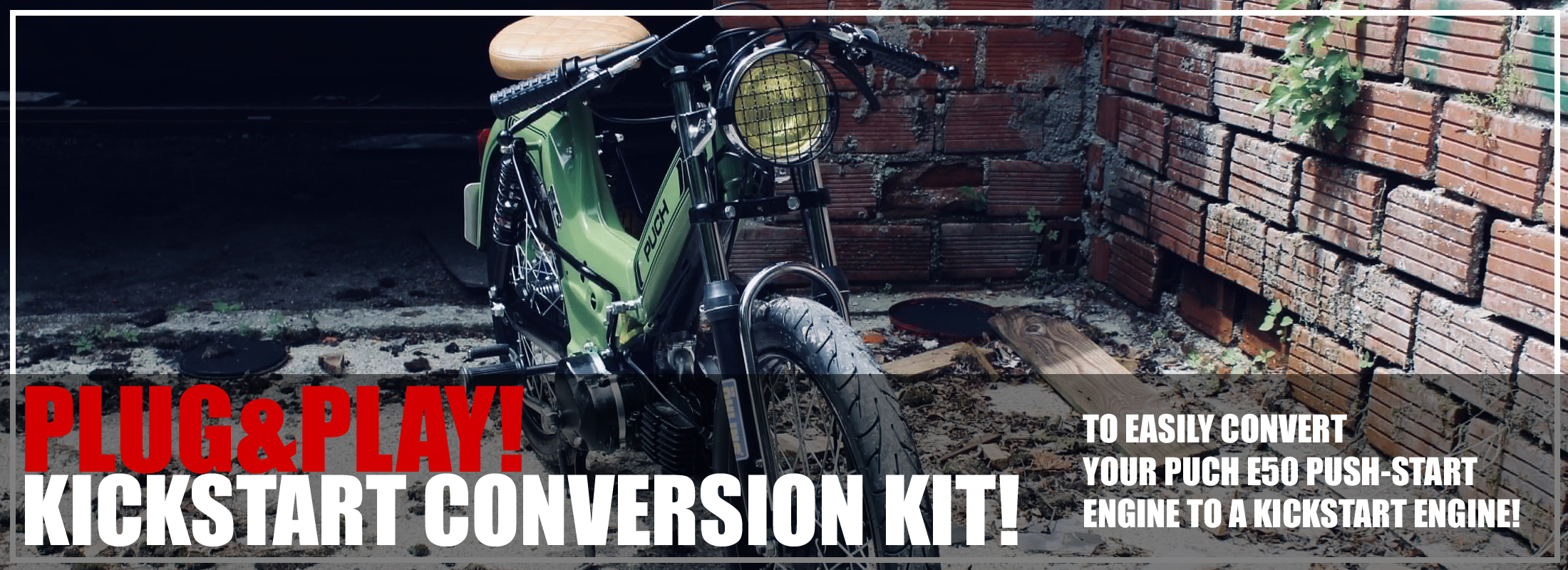 kickstart conversion kit