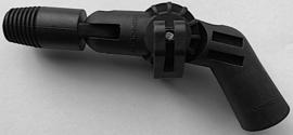 gardiner hoekadapter met snelle sluiting, schroefdraad en swivel