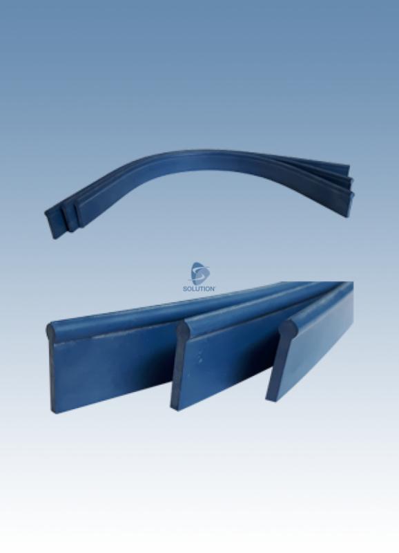 vervang rubber blauw 92 cm / 12 stuks