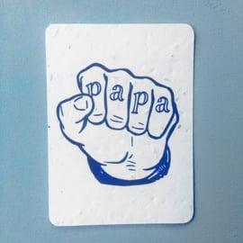 Papa Postcard - set van 4 kaarten met enveloppen