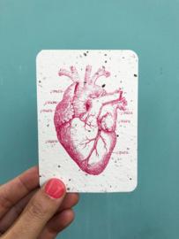 My Heart is yours notecards - set van 8 kaarten met enveloppen