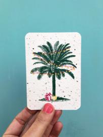 Palm & presents notecards - set van 8 kaarten met enveloppen