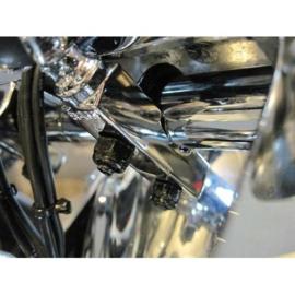 RAM Mount chroom basis voor koppeling of remhendel motor (RAM-B-309-1CHU)