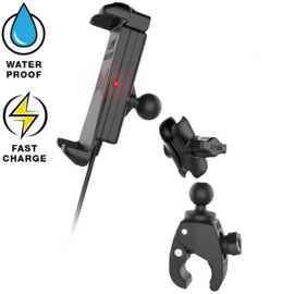 RAM Quick-Grip waterproof draadloze telefoonoplader Tough-Claw (RAM-B-400-A-UN14W)