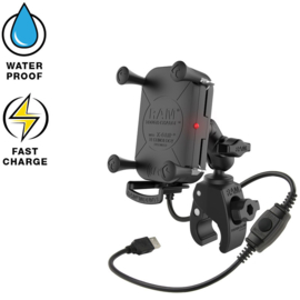 RAM Tough-Charge waterproof draadloze oplader Tough-Claw mount (RAM-B-400-A-UN12W)