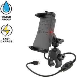 RAM Quick-Grip waterproof draadloze oplader Tough-Claw mount (RAM-B-400-A-UN14W)