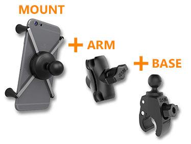 Handleiding RAM Mount samenstellen