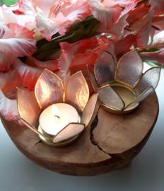 Lotus sfeerlicht ( naturel, goudkleurig )