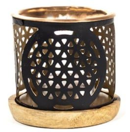 Aromafume exotic incense diffuser flower of life