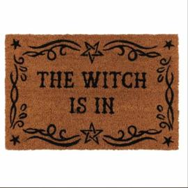 Deurmat The Witch is in ( kokos )