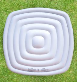 Opblaasbare isolerende cover voor vierkant model 6 personen