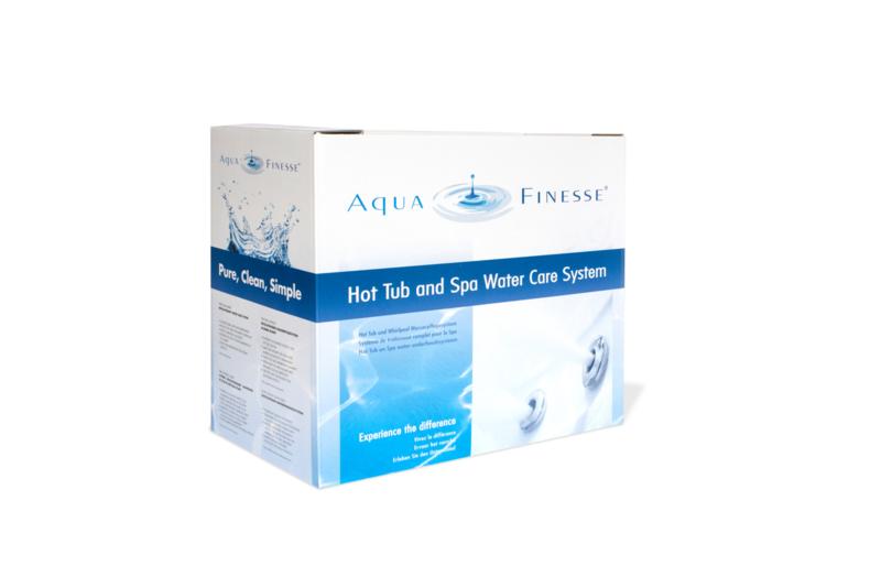 Aquafinesse spa onderhoudspakket