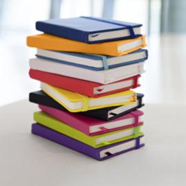 Notitieboekje met eigen ontwerp