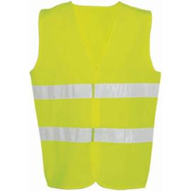 Veiligheidsvest volwassene geel