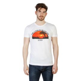 "Witte Trussardi T-shirt ""Sunset"""