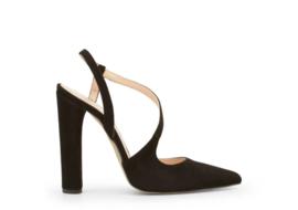 """Zwarte Suede Sandaletten van """"Made in Italia"""""""