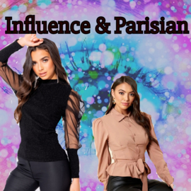 Merken in de Shop: Influence & Parisian!