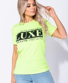 "Neon T-shirt ""Luxe"""