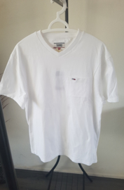 Witte Tommy Jeans T-Shirt