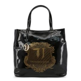 Trussardi Luxe ShopTas Zwart