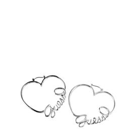 GUESS Hartvormige Oorbellen